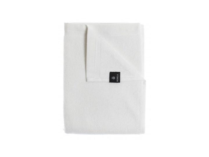 2-pak białe ręczniki Lina OEKO-TEX z lnu i bawełny 100x150 HIMLA Len 100x150 cm Bawełna Łazienkowe Ręcznik kąpielowy Kolor Biały