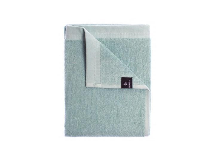 3-pak zielone ręczniki Lina OEKO-TEX z lnu i bawełny 50x70 HIMLA Bawełna Kolor Zielony Len 50x70 cm Łazienkowe Ręcznik do rąk Kolor Turkusowy