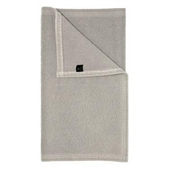 Szary piaskowy dywanik łazienkowy Love OEKO-TEX 50x80 z bawełny HIMLA