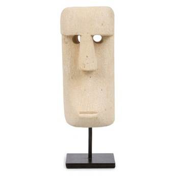 Dekoracja stojąca figurka Sumba-20 z piaskowca BAZAR BIZAR