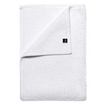 Biały dywanik łazienkowy Max OEKO-TEX 60x90 z bawełny HIMLA