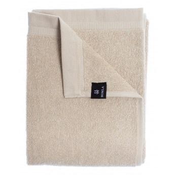 3-pak szare piaskowe ręczniki 50x70 Lina OEKO-TEX z lnu i bawełny HIMLA