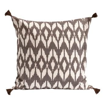 Duża brązowa poszewka dekoracyjna Stay IKA 50x50 z bawełny TINE K HOME