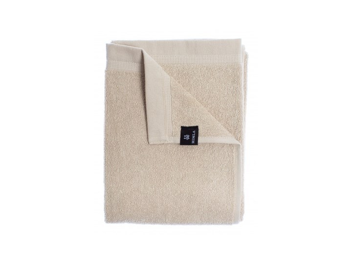 2-pak szare piaskowe ręczniki Lina OEKO-TEX z lnu i bawełny 70x140 HIMLA 70x140 cm Łazienkowe Bawełna Len Ręcznik kąpielowy Kolor Beżowy