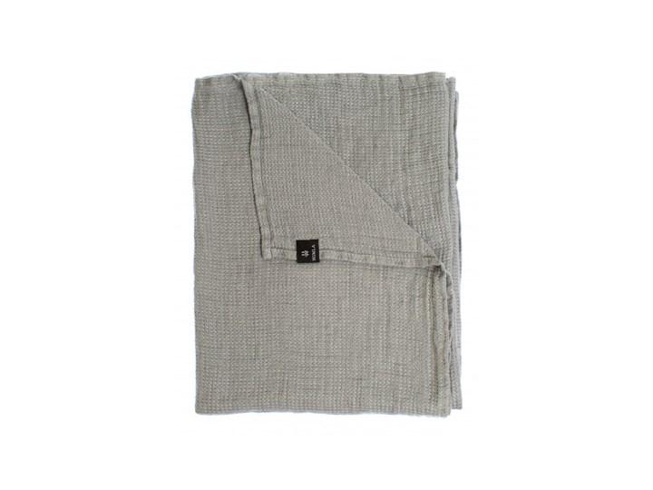Szary lniany ręcznik Fresh Laundry w waflowy wzór 70x135 HIMLA 70x135 cm Ręcznik kąpielowy Len Kategoria Ręczniki