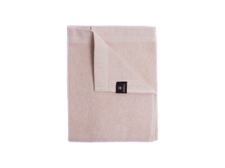 3-pak jasnoróżowe ręczniki Lina OEKO-TEX z lnu i bawełny 30x50 HIMLA Len Ręcznik do rąk 30x50 cm Bawełna Kolor Różowy