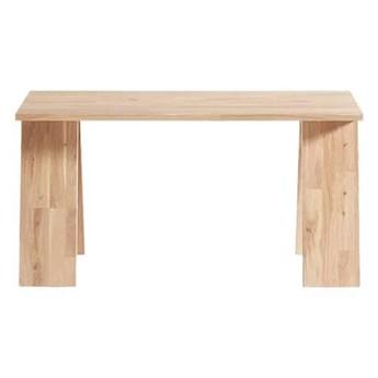 Naturalna ławka Angle z drewna dębowego olejowana MUUBS