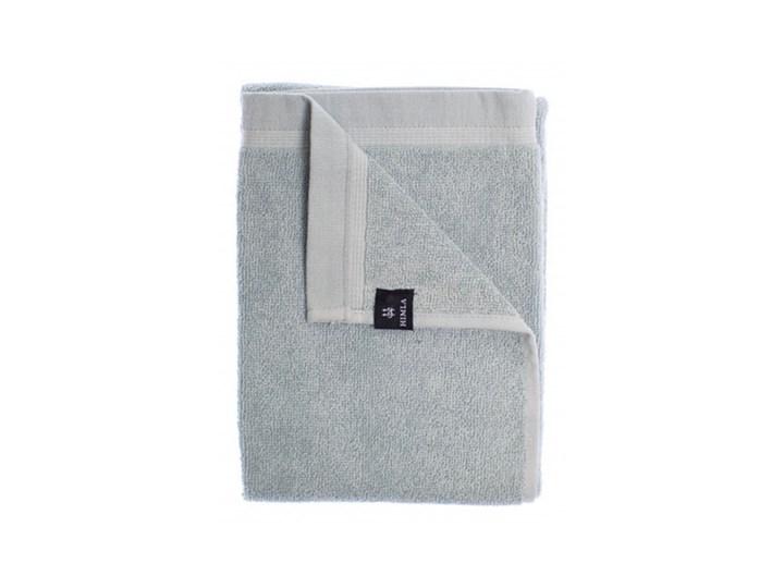 3-pak niebieskie ręczniki Lina OEKO-TEX z lnu i bawełny 30x50 HIMLA Bawełna 30x50 cm Łazienkowe Len Ręcznik do rąk Kolor Szary