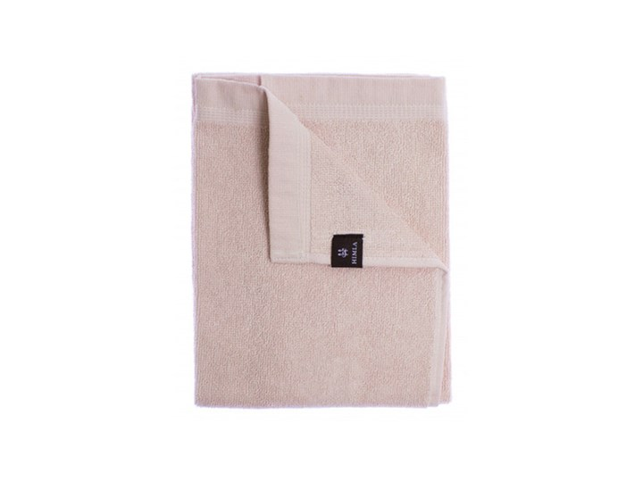 3-pak jasnoróżowe ręczniki Lina OEKO-TEX z lnu i bawełny 50x70 HIMLA Ręcznik do rąk Len Bawełna 50x70 cm Łazienkowe Kolor Różowy
