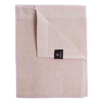 2-pak jasnoróżowe ręczniki 70x140 Lina OEKO-TEX z lnu i bawełny HIMLA