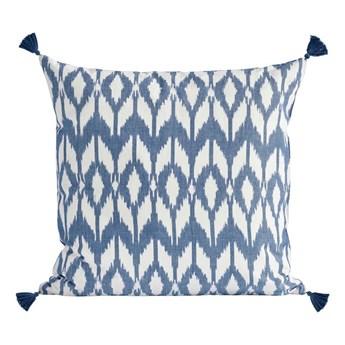 Duża niebieska poszewka dekoracyjna Stay IKA 50x50 z bawełny TINE K HOME
