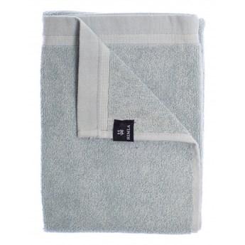 2-pak niebieskie ręczniki 70x140 Lina OEKO-TEX z lnu i bawełny HIMLA