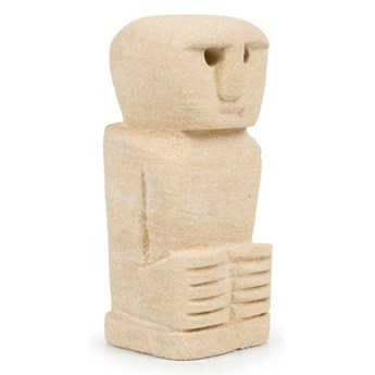 Dekoracja stojąca figurka Sumba-24 z piaskowca BAZAR BIZAR