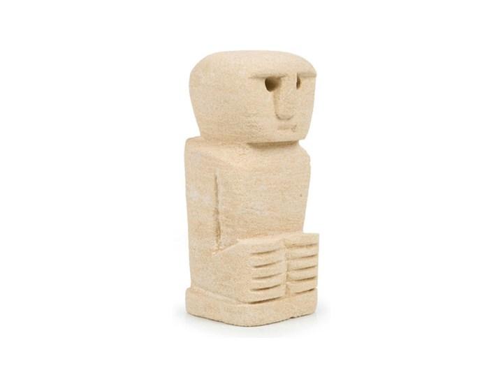Dekoracja stojąca figurka Sumba-24 z piaskowca BAZAR BIZAR Kamień Metal Kategoria Figury i rzeźby
