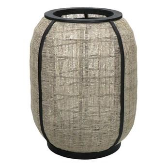 Lampion Pleiku z lnu i bambusa POMAX