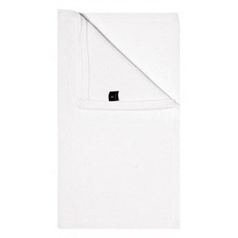 Biały dywanik łazienkowy Love OEKO-TEX 50x80 z bawełny HIMLA