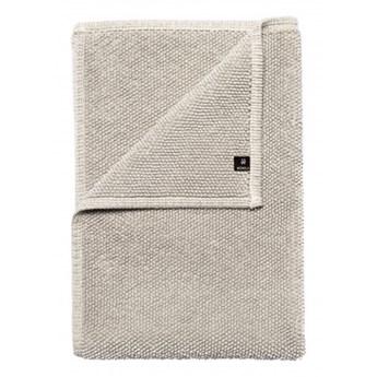 Szary piaskowy dywanik łazienkowy Max OEKO-TEX 60x90 z bawełny HIMLA