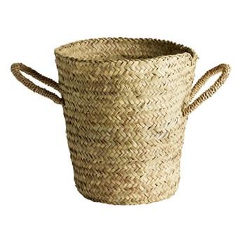 Kosz Guest z dużymi uchwytami z liści palmowych TINE K HOME