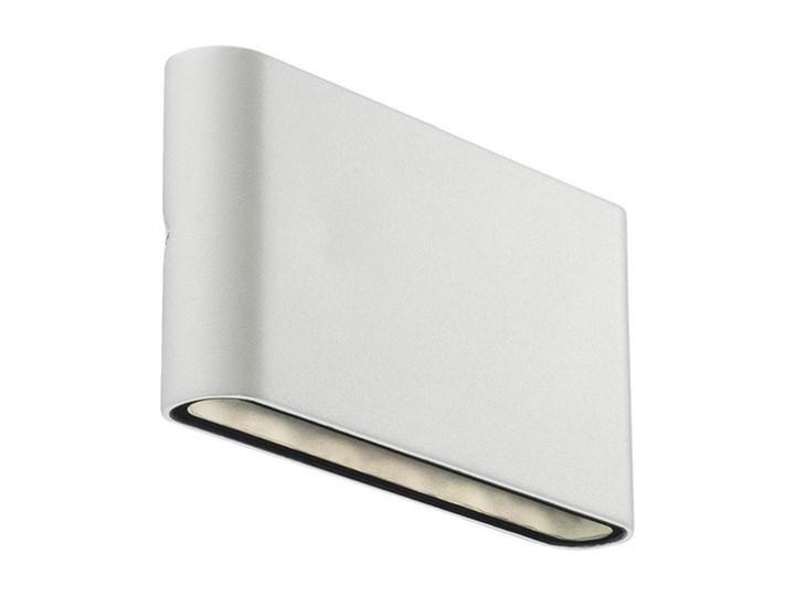 Białe metalowe oświetlenie ścienne zewnętrzne Kinver NORDLUX Kinkiet ogrodowy Kolor Biały