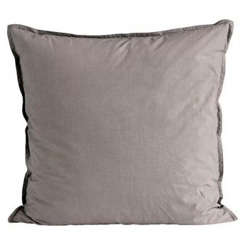 Zestaw 2 szare bawełniane poszewki Softbed 60x60 pościel TINE K HOME