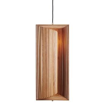 Lampa drewniana wisząca Frames - naturalny dąb NORR11