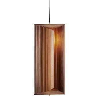 Lampa drewniana wisząca Frames - jasny dymiony dąb NORR11