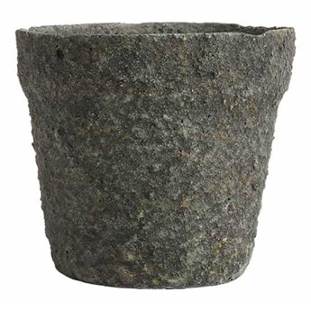 Szarozielona doniczka Mosu 19 z cementu MUUBS