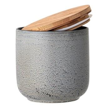 Ceramiczny pojemnik na żywność Kendra z bambusową pokrywką BLOOMINGVILLE