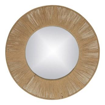 Designerskie lustro Finesse z ozdobną ramą ze sznurka POMAX