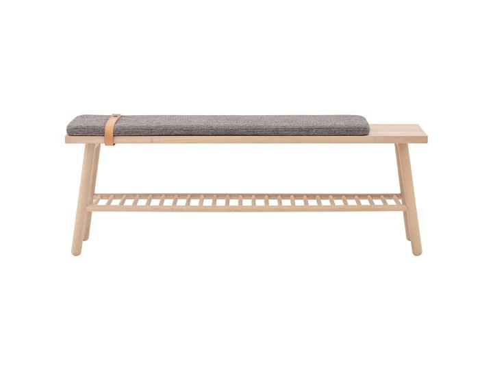 Ławka do przedpokoju z drewna dębowego BLOOMINGVILLE
