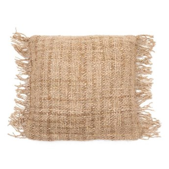 Beżowa poduszka S'il 40x40 z bawełny BAZAR BIZAR