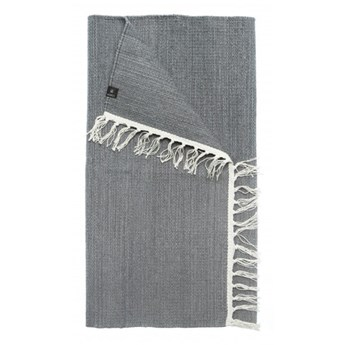 Szary chodnik Saro z bawełny 80x150 HIMLA
