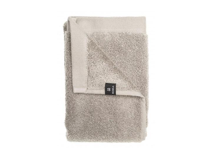 Szary ręcznik kąpielowy Maxime GOTS z bawełny organicznej 100x150 HIMLA Łazienkowe 100x150 cm Frotte Komplet ręczników Bawełna Kategoria Ręczniki
