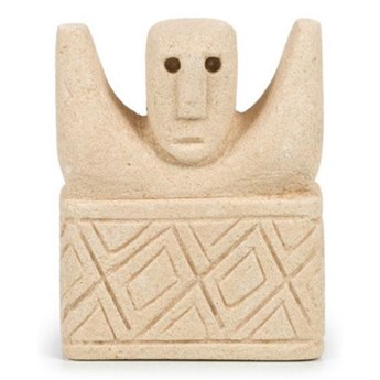 Dekoracja stojąca figurka Sumba-17 z piaskowca BAZAR BIZAR