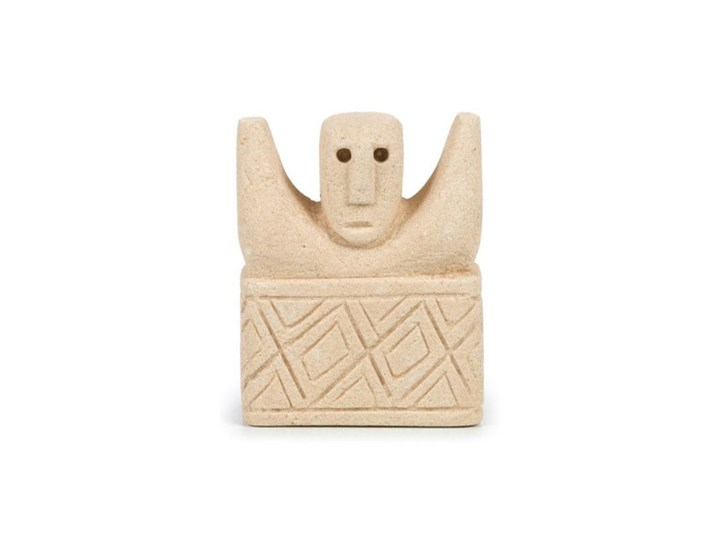 Dekoracja stojąca figurka Sumba-17 z piaskowca BAZAR BIZAR Kamień Kategoria Figury i rzeźby