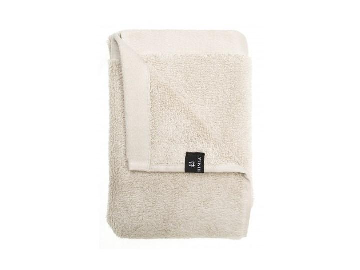 2-pak szare piaskowe ręczniki Maxime GOTS z bawełny organicznej 50x70 HIMLA Ręcznik do rąk Komplet ręczników Bawełna 50x70 cm Frotte Łazienkowe
