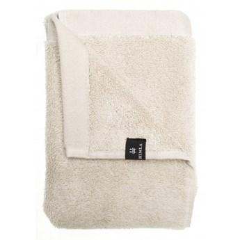 Szary piaskowy ręcznik 70x140 Maxime GOTS z bawełny organicznej HIMLA