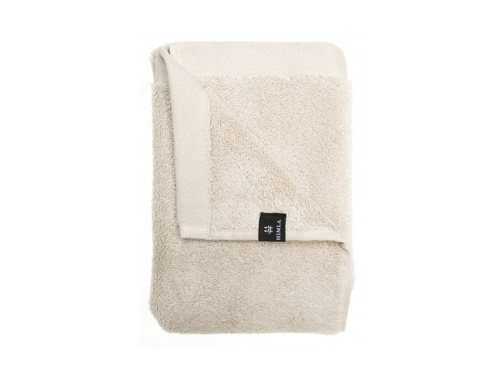 Szary piaskowy ręcznik 100x150 Maxime GOTS z bawełny organicznej HIMLA