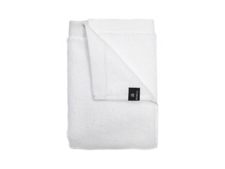 Biały ręcznik Maxime GOTS z bawełny organicznej 100x150 HIMLA Frotte Ręcznik kąpielowy 100x150 cm Bawełna Łazienkowe Komplet ręczników Kategoria Ręczniki