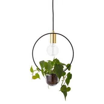 Designerska lampa sufitowa z doniczką na kole BLOOMINGVILLE