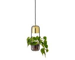 Designerska złota lampa sufitowa z doniczką BLOOMINGVILLE