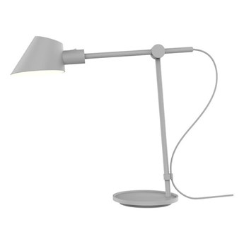 Szara lampa stołowa Stay Long DESIGN FOR THE PEOPLE BY NORDLUX