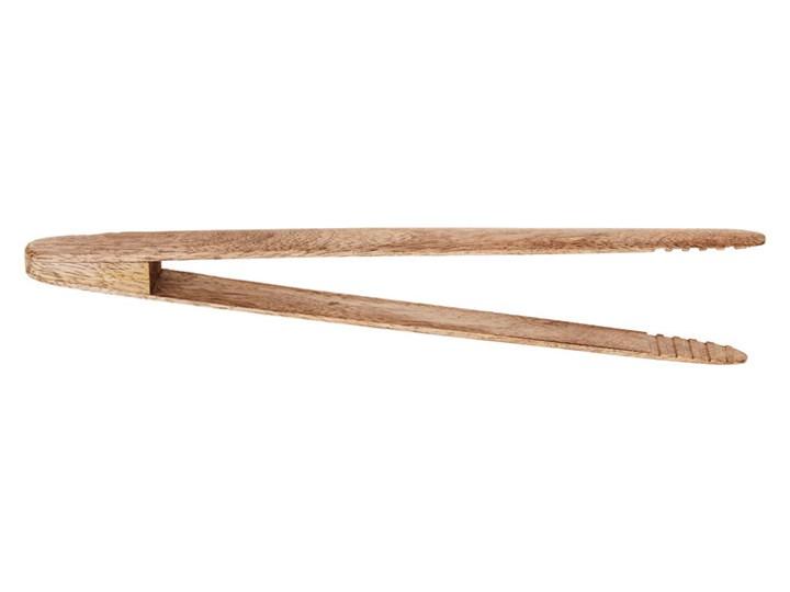 Szczypce uniwersalne kuchenne drewniane MADAM STOLTZ Kolor Szary