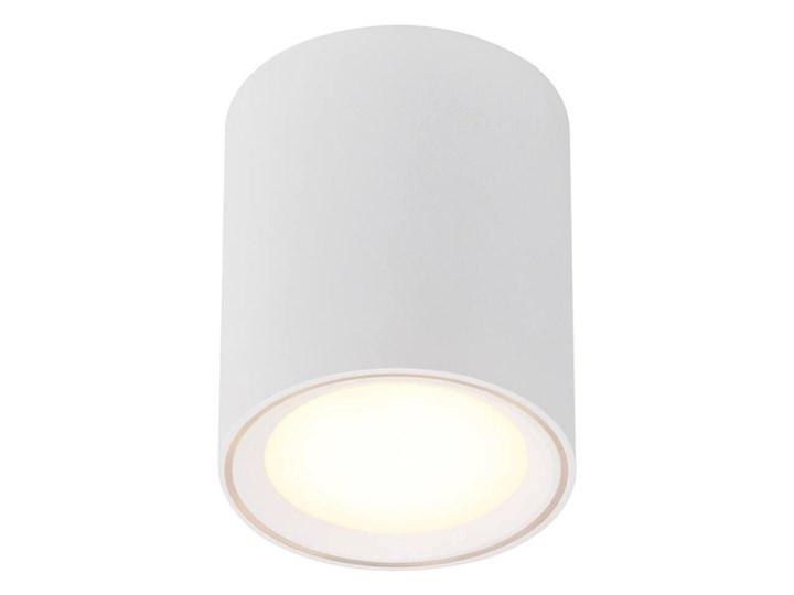 Lampa ledowa sufitowa tuba Fallon Long LED biała NORDLUX Oprawa led Oprawa stropowa Okrągłe Kolor Biały