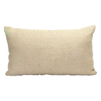 Naturalna prostokątna poduszka dekoracyjna 35x60 z juty BAZAR BIZAR