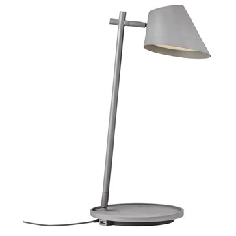 Szara lampa stołowa Stay DESIGN FOR THE PEOPLE BY NORDLUX