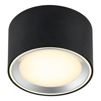 Lampa ledowa sufitowa tuba Fallon LED czarna NORDLUX