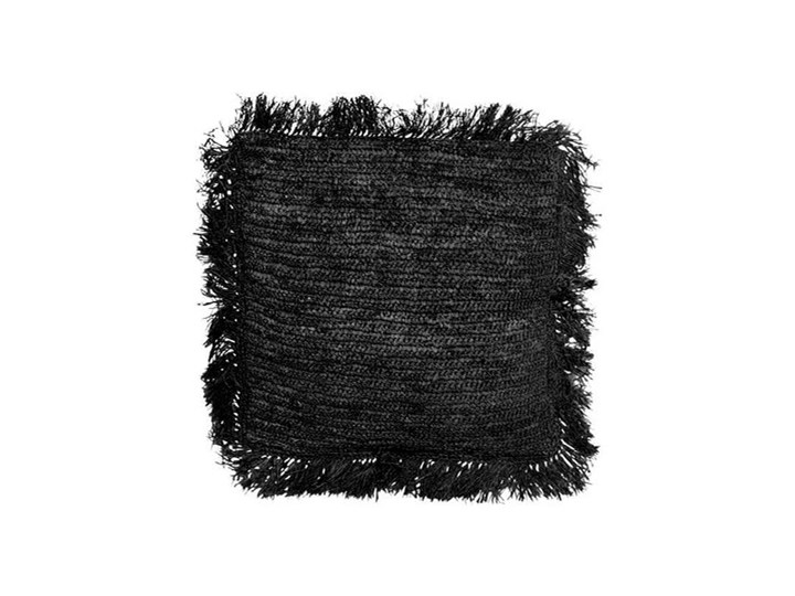 Zestaw 3 ozdobne koszyki Beaded Mix z bambusa i koralików BAZAR BIZAR 40x40 cm Kwadratowe Okrągłe Kolor Czarny Prostokątne Poduszka dekoracyjna Pomieszczenie Sypialnia