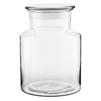 Szklany pojemnik słój Farma 3L na mąkę bakalie makarony kasze HOUSE DOCTOR