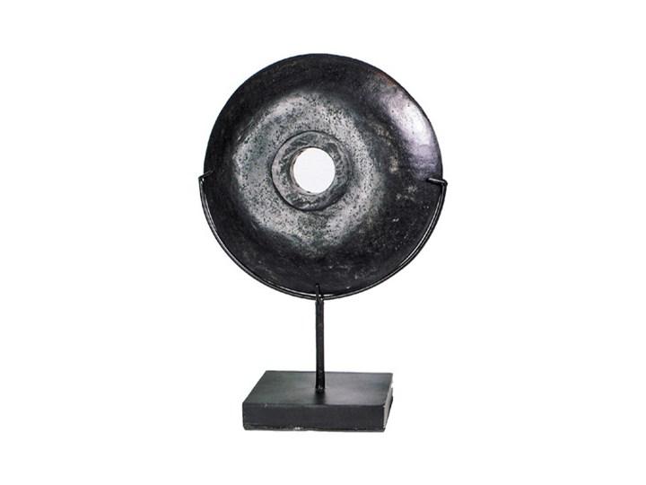 Czarna dekoracja stojąca z kamienia rzecznego Stand-M BAZAR BIZAR Kolor Czarny